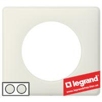 Рамка 2-я Legrand Celiane 66702 (белая перкаль)