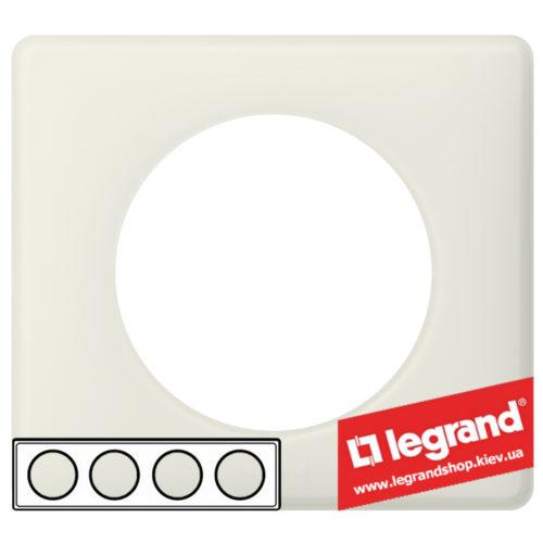Рамка 4-я Legrand Celiane 66704 (белая перкаль)