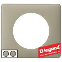 Рамка 2-я Legrand Celiane 66712 (грин перкаль)