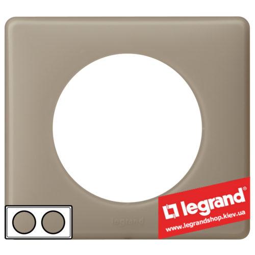 Рамка 2-я Legrand Celiane 66722 (грэй перкаль)