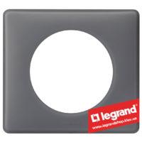 Рамка 1-я Legrand Celiane 66731 (фиолетовая перкаль)