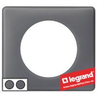 Рамка 2-я Legrand Celiane 66732 (фиолетовая перкаль)