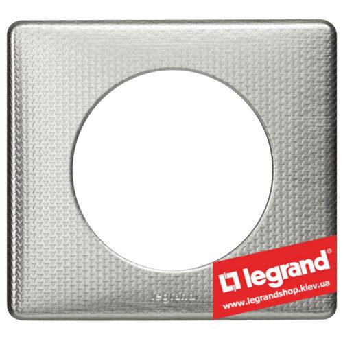 Рамка 1-я Legrand Celiane 68721 (сильвер пунктум)Рамка 1-я Legrand Celiane 68721 (сильвер пунктум)