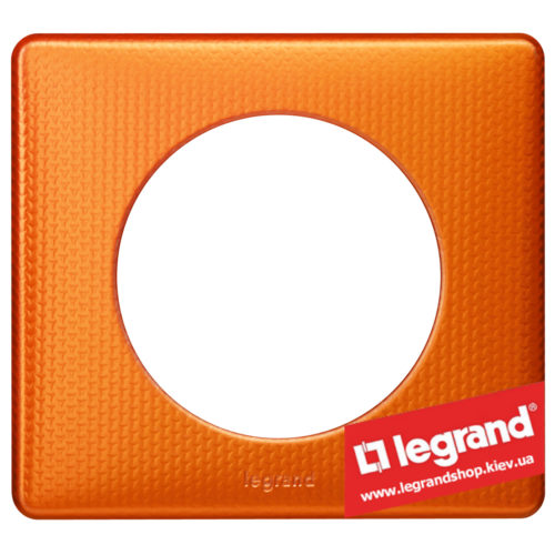 Рамка 1-я Legrand Celiane 68761 (оранж пунктум)