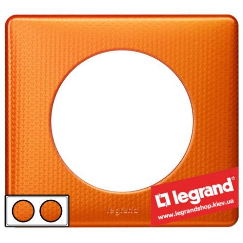 Рамка 2-я Legrand Celiane 68762 (оранж пунктум)