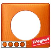 Рамка 4-я Legrand Celiane 68764 (оранж пунктум)