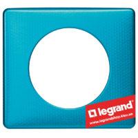 Рамка 1-я Legrand Celiane 68771 (лазурный пунктум)