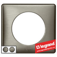 Рамка 2-я Legrand Celiane 68972 (вольфрам)