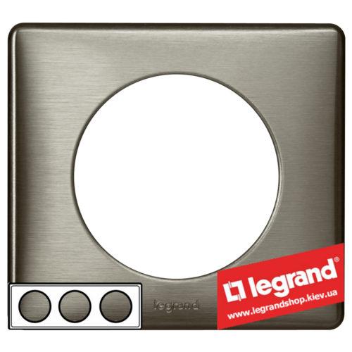Рамка 3-я Legrand Celiane 68973 (вольфрам)