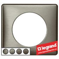 Рамка 4-я Legrand Celiane 68974 (вольфрам)