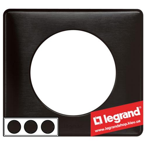 Рамка 3-я Legrand Celiane 68983 (карбон)