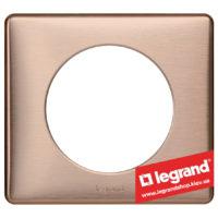 Рамка 1-я Legrand Celiane 68991 (медь)