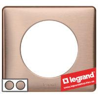 Рамка 2-я Legrand Celiane 68992 (медь)