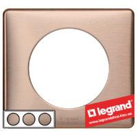 Рамка 3-я Legrand Celiane 68993 (медь)