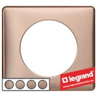 Рамка 4-я Legrand Celiane 68994 (медь)
