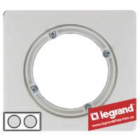 Рамка 2-я влагозащищенная IP44 Legrand Celiane 69072 (белая)