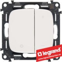 Светорегулятор кнопочный Legrand Allure Life 400Вт 752762 (белый)
