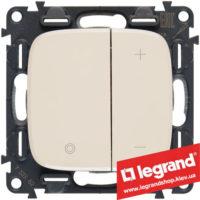 Светорегулятор кнопочный Legrand Allure Life 400Вт 752862 (слоновая кость)