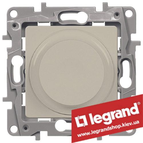 Светорегулятор поворотный Legrand Etika 5-300Вт (слоновая кость)