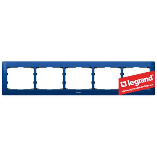 Рамка 5-я Legrand Galea Life 771915 (магический синий)