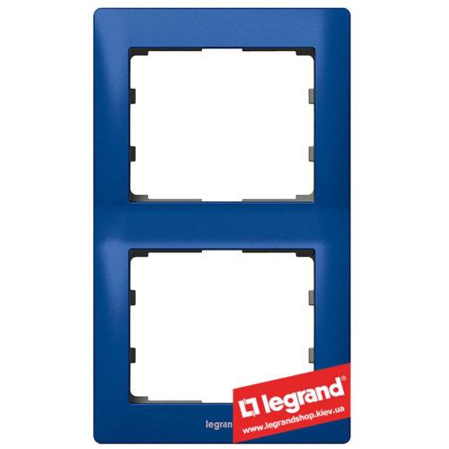 Рамка 2-я вертикальная Legrand Galea Life 771916 (магический синий)