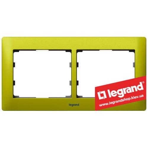 Рамка 2-я Legrand Galea Life 771922 (магический зеленый)