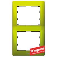Рамка 2-я вертикальная Legrand Galea Life 771926 (магический зеленый)